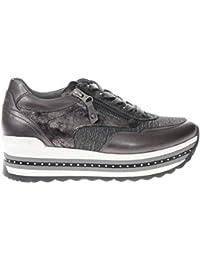 Nero Mod Giardini A806600d Piombo Donna Sneaker 4q48B1r