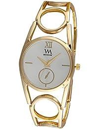 Watch Me Quartz Analogue White Dial Women's Watch - WMAL-314