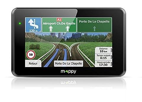 Mappy ITIE421S WEST Europe GPS Eléments Dédiés à la Navigation Embarquée Fixe, 16:9