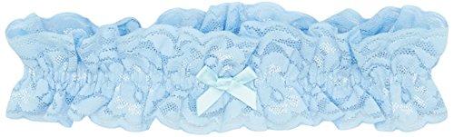 Strumpfband Strumpfhose - GLAMORY Damen Garter Strumpfband-Light-Blue-Einheitsgröße Strumpfhose, 100