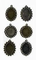 """Ces pendentifs """"oldies"""" au look vieilli seront parfaits pour toutes vos créations."""