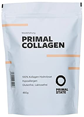 PRIMAL COLLAGEN Protein Powder (100% pure Collagen Hydrolysate | pasture feeding) - 453g