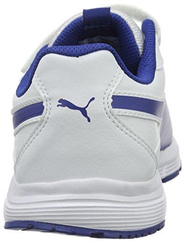 Puma Axis V4 Sl V Jr Sneaker Bianco/Limoges