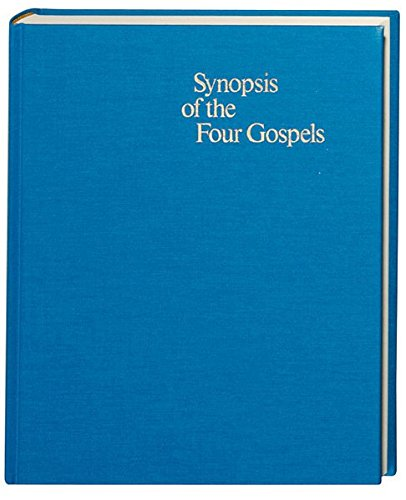 Synopsis of the Four Gospels, 10 Edition