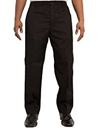 Carabou Mens Elastic Waist 32 – 60 Inch Rugby Trousers Comfort Casual Pants Available In 7 Colours