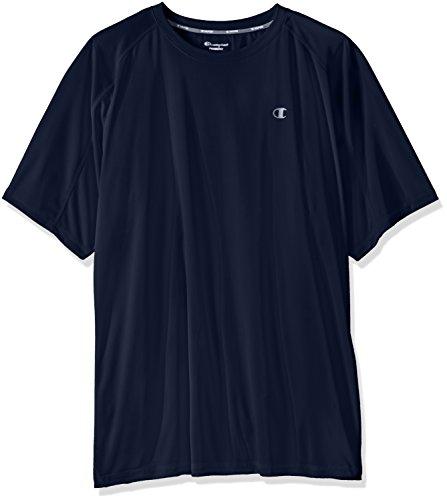 Champion's Männer grossen und hohen Performance Raglan T-Shirt, Navy, 2 X (Und Groß Performance Hoch T-shirt)