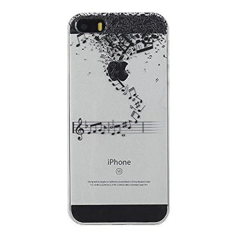 iPhone 5S Hülle,iPhone 5 Schutzhülle,iPhone 5/5S Case, Edaroo Motiv Cartoon
