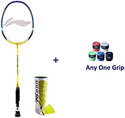 Li Ning Smash XP 80-II Badminton Racket Single Player Set