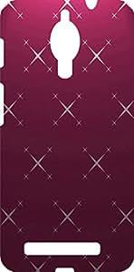 Koolbug Printed Hard Back Case Cover For Asus Zenfone C