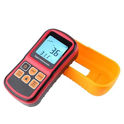 YBYBYB Anemometer Externe Fan Professionelle Anemometer Handheld Split Elektronische Messinstrument Hohe Präzision Messung Geeignet Für Surfen Segeln Angeln Fliegen Kite Mountaineering
