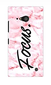 Nokia Lumia 735 Back Case Cover by G.Store