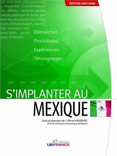 S'implanter au Mexique