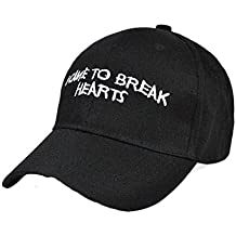 Gorra de beisbol Sannysis Sombrero de Hip Hop, sombrero ajustable, sonrisa Imprimir (12)