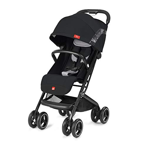 gb Gold Buggy Qbit+ All Terrain, Luxus Traveller, 3-in-1 Reisesystem, Ab Geburt bis 17 kg (ca. 4 Jahre), Velvet Black