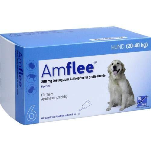 Amflee Spot-on Hund - 268 mg - 6 Pipetten