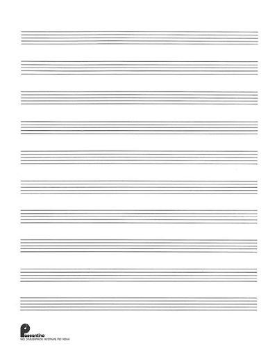 Passantino Music Papers: No. 2 10 Stave