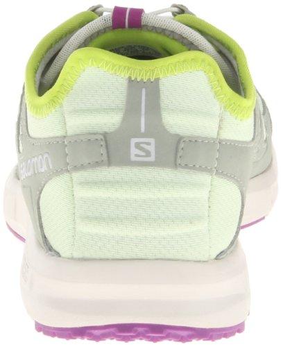 Salomon  Kowloon, Damen Laufschuhe, Grün Verde Claro / Gris