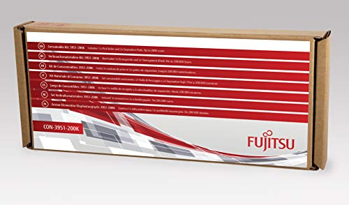 FUJITSU Includes 1x Pick Roller and 2X Separation Pads Estimated Life Up to 200K scans - Pick Roller Pad