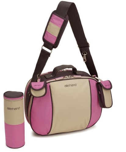 Preisvergleich Produktbild Allerhand AH-BT-COB-05N 111 - Carry On Bag Flamingo - Wickeltasche