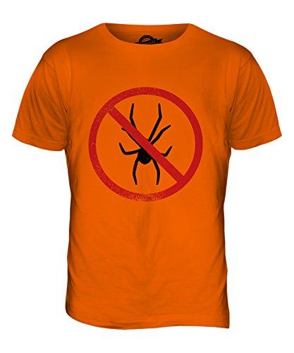 CandyMix Arachnophobie Herren T Shirt Orange