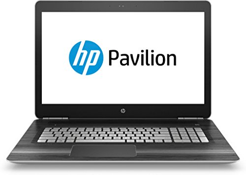 HP Pavilion (17-ab202ng) 43,9 cm (17,3 Zoll / FHD IPS) Notebook (Intel Core i7-7700HQ, 256 GB SSD, 8 GB RAM, NVIDIA GeForce GTX 1050, Windows 10 Home 64) in schwarz/silber