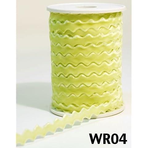 Lime Verde velluto Ric Rac 10mm nastro da Arti Può