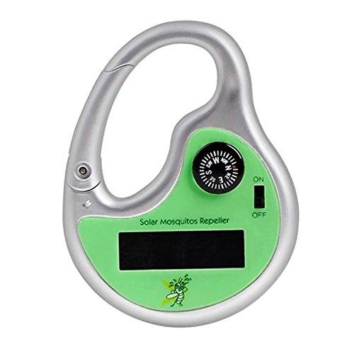 Gosear Mobile Portatile Solare Ultrasuoni Anti-zanzara Pest Controllo Repeller Zanzara Repellente per Piscina Viaggio