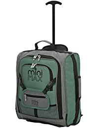c6c263c931a MiniMAX Childrens Kids Luggage Carry On Trolley Suitcase with Backpack and  Pouch for Your Favourite