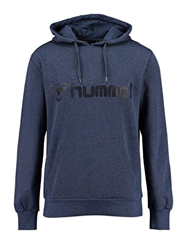 Hummel Herren Sweatshirt CLASSIC BEE HOOD Dress Blue Melange/Black