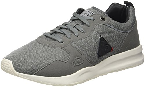 Le Coq Sportif LCS R600 2 Tones Reflective, Baskets Basses Homme Gris (Grey Denim/Black)