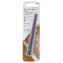 Almay intense i-color Play Up Liquid Liner Purple Amethyst 021 0.08 Ounce Package