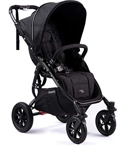 Valco Baby Original Snap 4 Sport Single Stroller Air Wheels Coal Black
