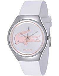 Lacoste Damen-Armbanduhr Analog Quarz Silikon 2000838