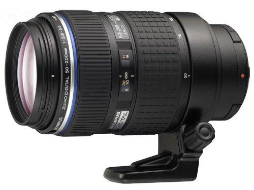 Olympus Zuiko 50-200 mm f/2.8-3.5 Digital ED SWD Objektiv für Olympus Digital SLR Kameras (Digitale Slr-kameras Von Olympus)