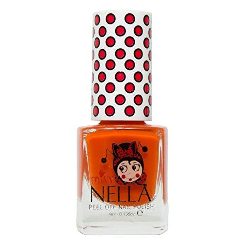 Miss Nella Kinder-Nagellack, ablösbare Formel auf Wasserbasis