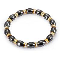 LnLyin Damen Armband magnetischer Hämatit Armband für preisvergleich bei billige-tabletten.eu