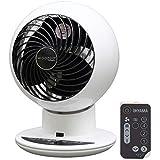Iris Ohyama White IRIS, leiser Turbo-Ventilator 'Woozoo by Ohyama', PCF-SC15T, Weiss, 38 W, 30 m², Reichweite 25 m, Kunststoff, qm