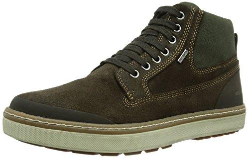 Geox U MATTIAS B ABX B, Herren Chukka Boots, Braun (CHESTNUTC6004), 46 EU (11 Herren UK)