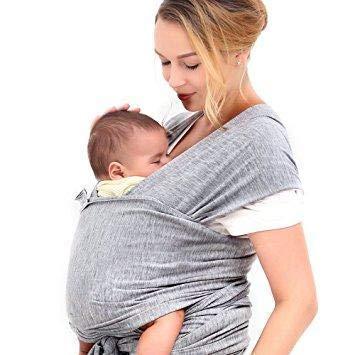 Babytragetuch | elastisches Tragetuch Baby Carrier | Tragetücher für Männer und Frauen | Babytragen babytuch | Halten Sie Ihr Baby am Herzen liegt | 100% GARANTIE und KOSTENLOSE LIEFERUNG - 5