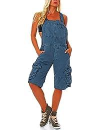 Suchergebnis auf für: latzhose damen kurz blau