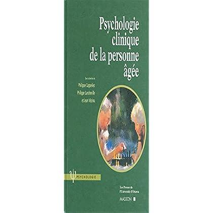 Psychologie clinique de la personne âgée