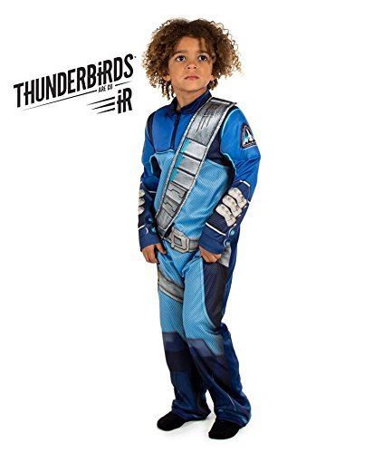 Thunderbirds Are Go! Scott Tracy Fancy Dress Costume (Official ITV Licensed) (7-8 years) by Pretend to Bee (Outfit Girl Go Go)
