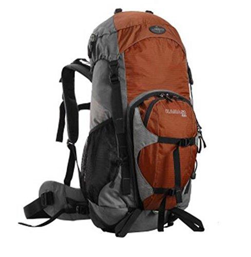 sacchetti di alpinismo all'aperto professionali 40l zaino tracolla uomini e donne zaino da viaggio ( Colore : Nero , dimensioni : 40L ) Arancia