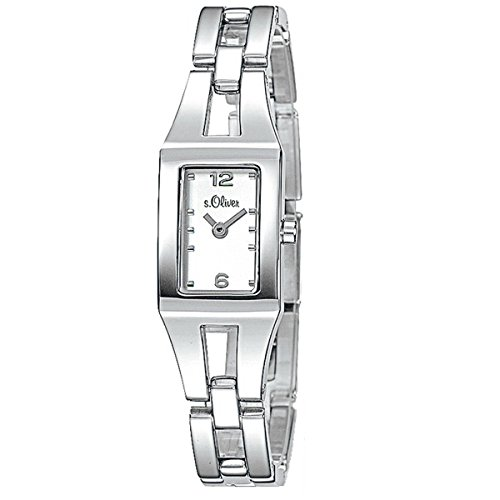 s.Oliver Damen-Armbanduhr Analog Quarz SO-15039-MQR