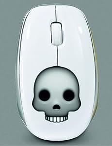 """'Mouse/Souris avec USB Smiley """"Tête de Mort Crâne Ou, Skrull Emoji, Smiley, Trend, culte, mignon, eau douce, Hipster, Cool, souris, souris Mouse avec USB, radio, ordinateur portable, PC."""