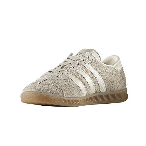 Adidas Hamburgo Uomo Scarpe Bb5110 Ante. Sneaker Low-top Marron / Blanc