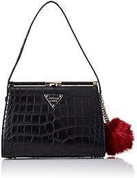 GUESS Rhoda Frame Shoulder Bag, Bolso de Mano para Mujer, Talla Unica EU