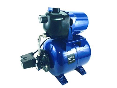 Neptun Classic NCHW-E 70 Classic E Hauswasserautomat 700 W/Wasserpumpe/4 bar/3600 l/h Fördermenge/Ansaughöhe bis 8 m/Förderhöhe 40 Meter