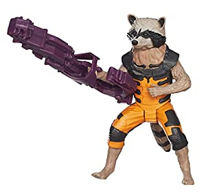 Guardians Of The Galaxy Titan Hero Rocket Racoon 8 inch Action Figure