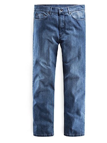 Walbusch Herren Jeans einfarbig in den Farben Blau, Grau, Hellblau, Dunkelblau, Mittelgrau Hellblau